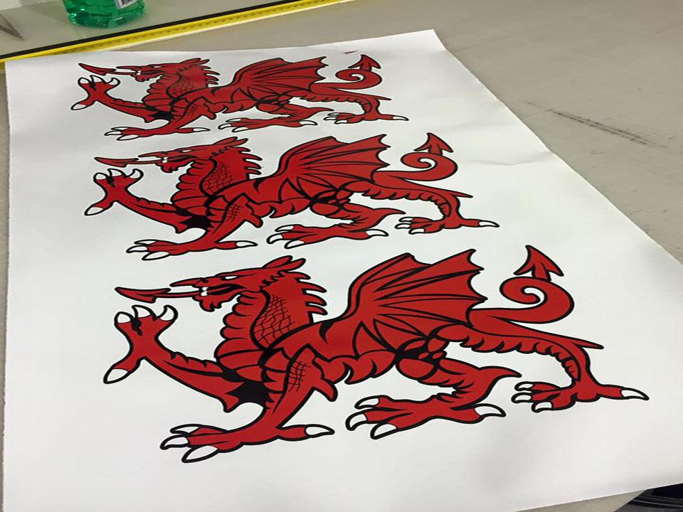 Dragon stickers